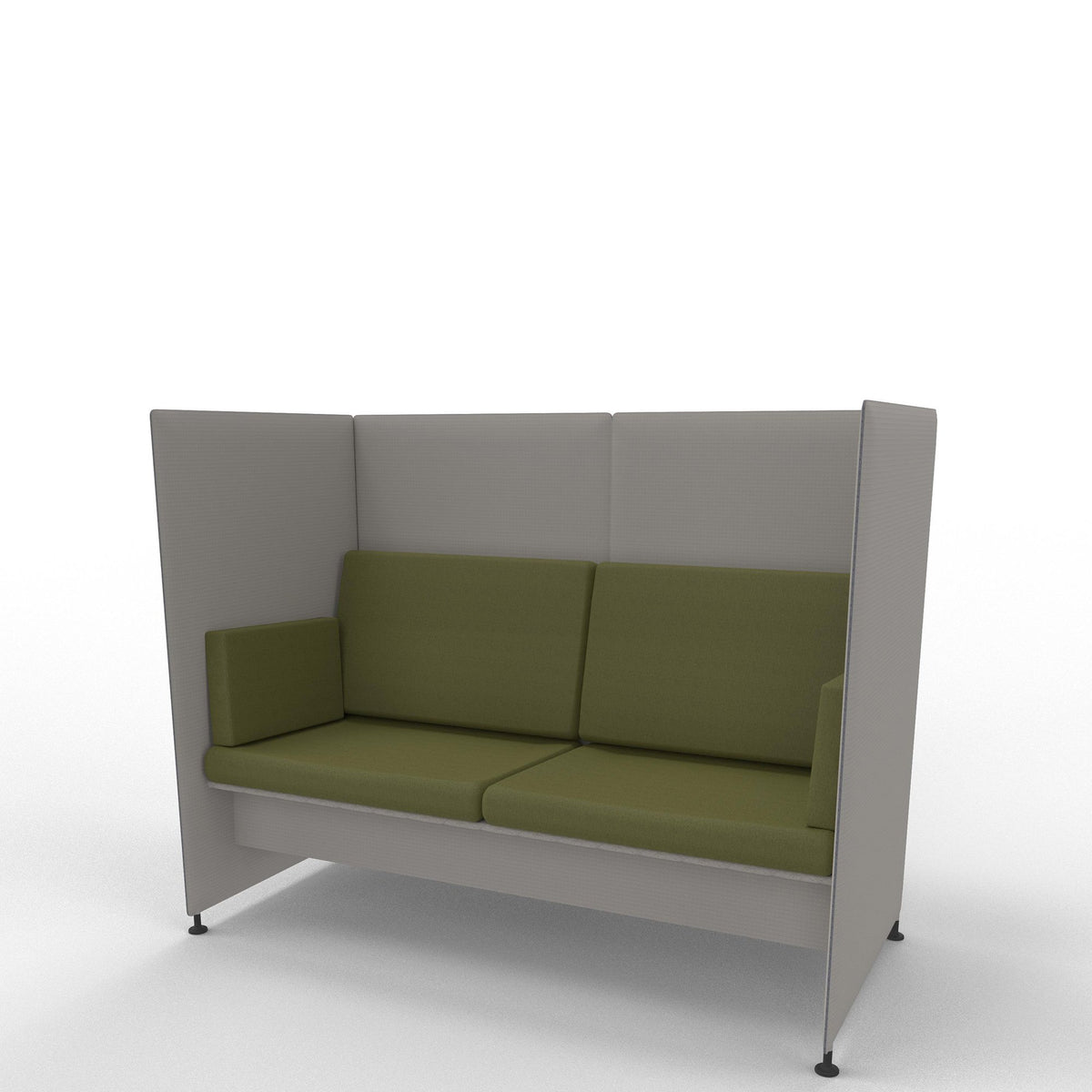 Edsbyn Ease Sofa Pod with Olive Cushions