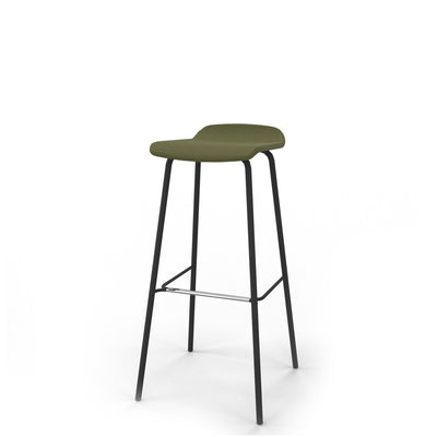 Edsbyn Office Upholstered Stool 800mmH Olive