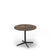 Edsbyn Dark Emperador Marble Coffee Table with Black Base