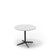Edsbyn Feather Lounge Coffee Table White with Black Base