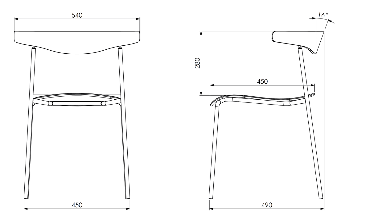 Dimensions for Edsbyn Office Hug Chair