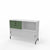 Edsbyn Office Neat Credenza 1200m White with Bay Leaf Green