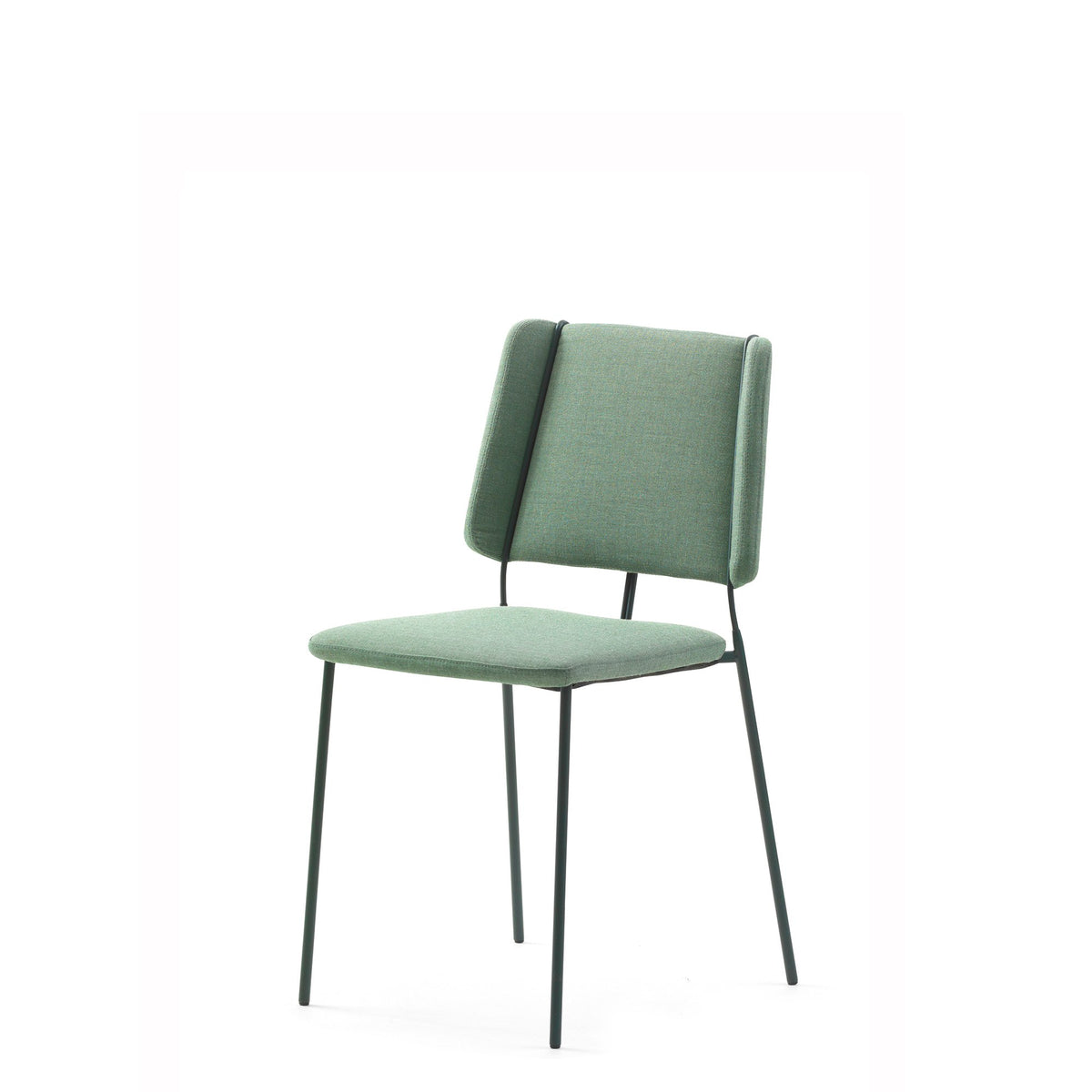 Johanson Design - Frankie Stackable Chair - Set of Four - Grass Green - Set of Four