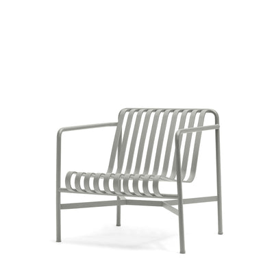 HAY Palissade Lounge Chair Low Office Sky Grey