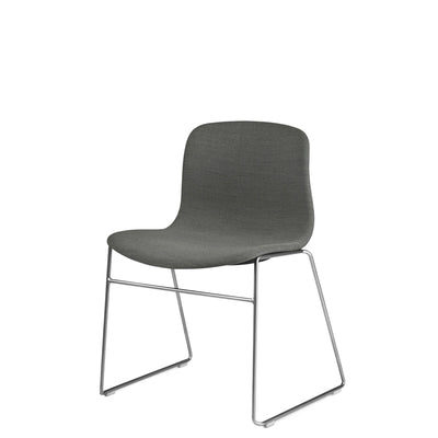 HAY About A Chair AAC 09 Steelcut Trio 0153 Stackable Chair with Stainless Steel Base