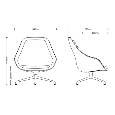 About A Lounge Chair - AAL91