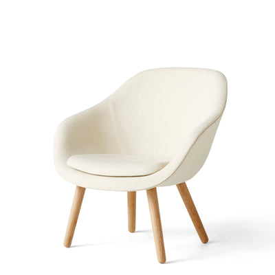 HAY About A Chair AAL82 Olavi 01 With Cushion with Matt Lacquered Oak Base