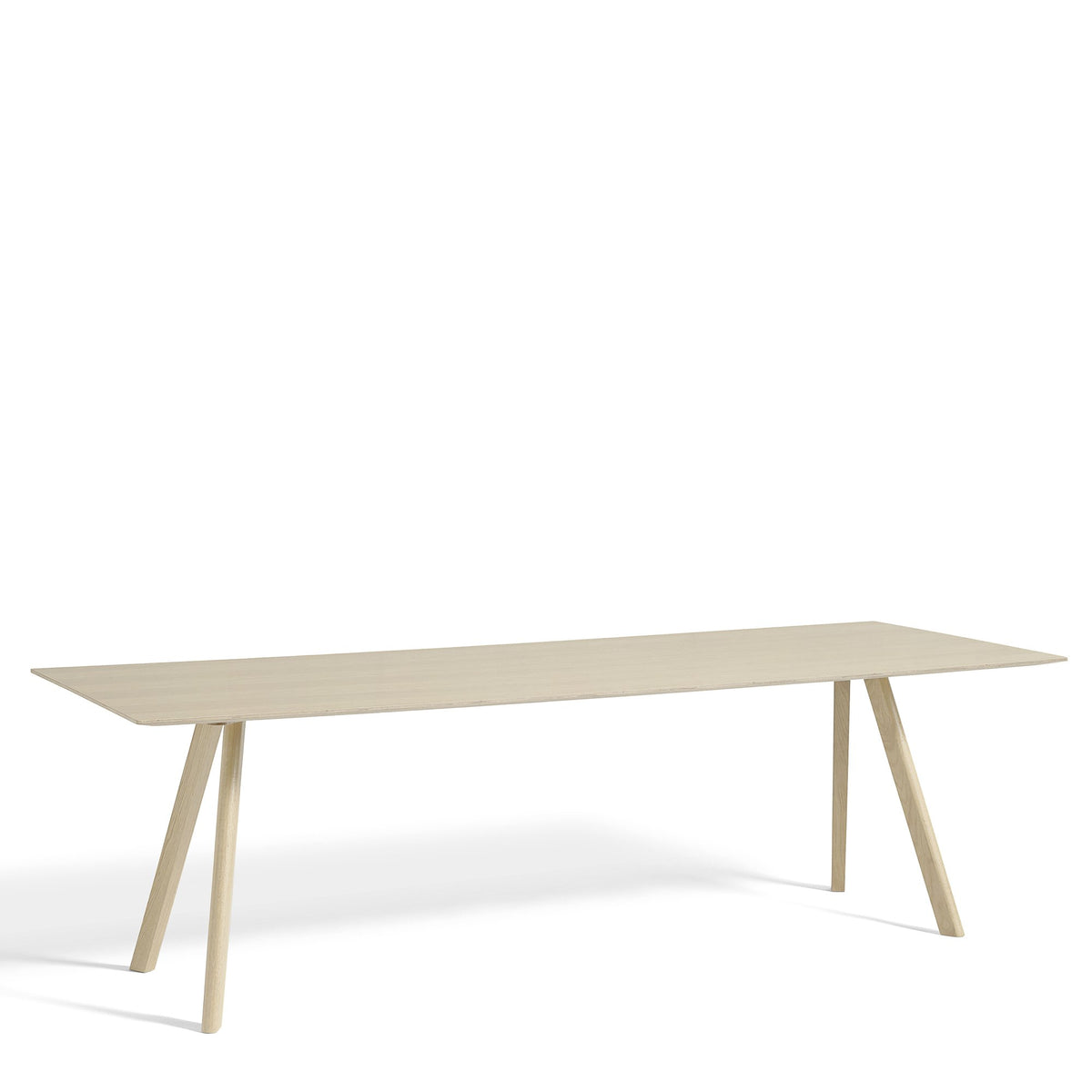 HAY CPH Table 2500mm with Matt Lacquered Oak Base