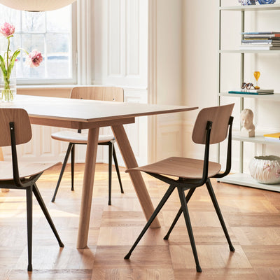 HAY CPH 30 Table 2000mm with Matt Lacquered Oak Base Seating