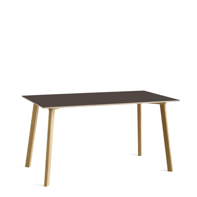 HAY CPH Deux 210 1400mm Stone Grey 0724 with Matt Lacquered Oak Base