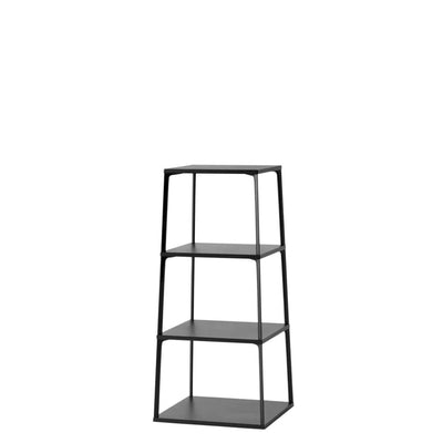 HAY Ink Black Office Eiffel Shelf with 4 Layers