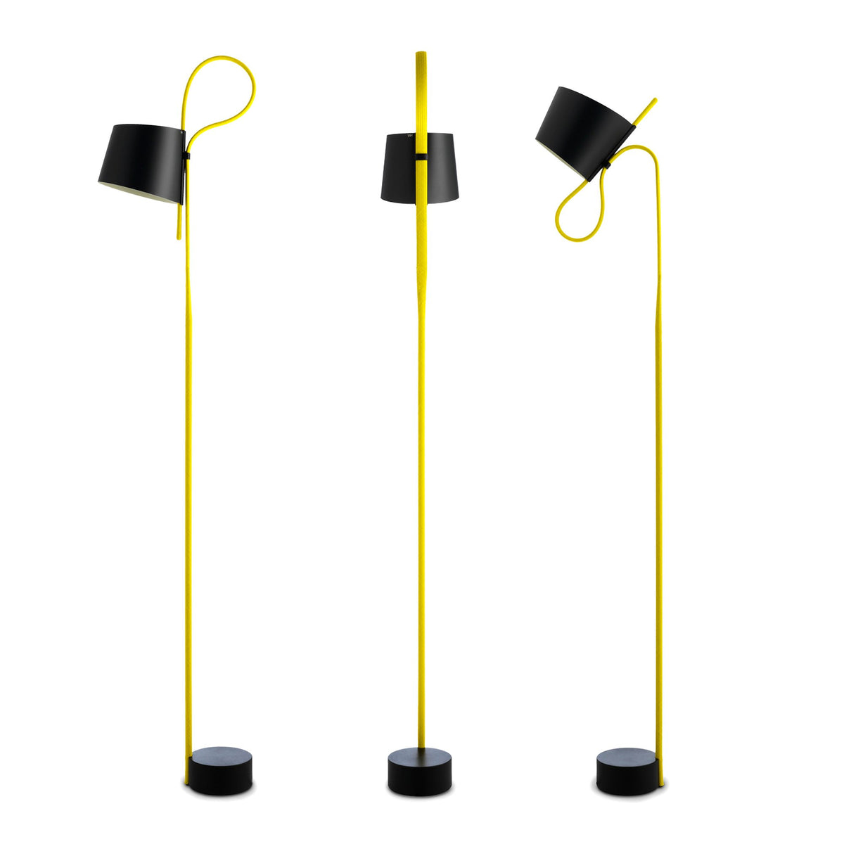 HAY Office Rope Trick Floor Lamp