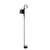 HAY Office Black Rope Trick Floor Lamp