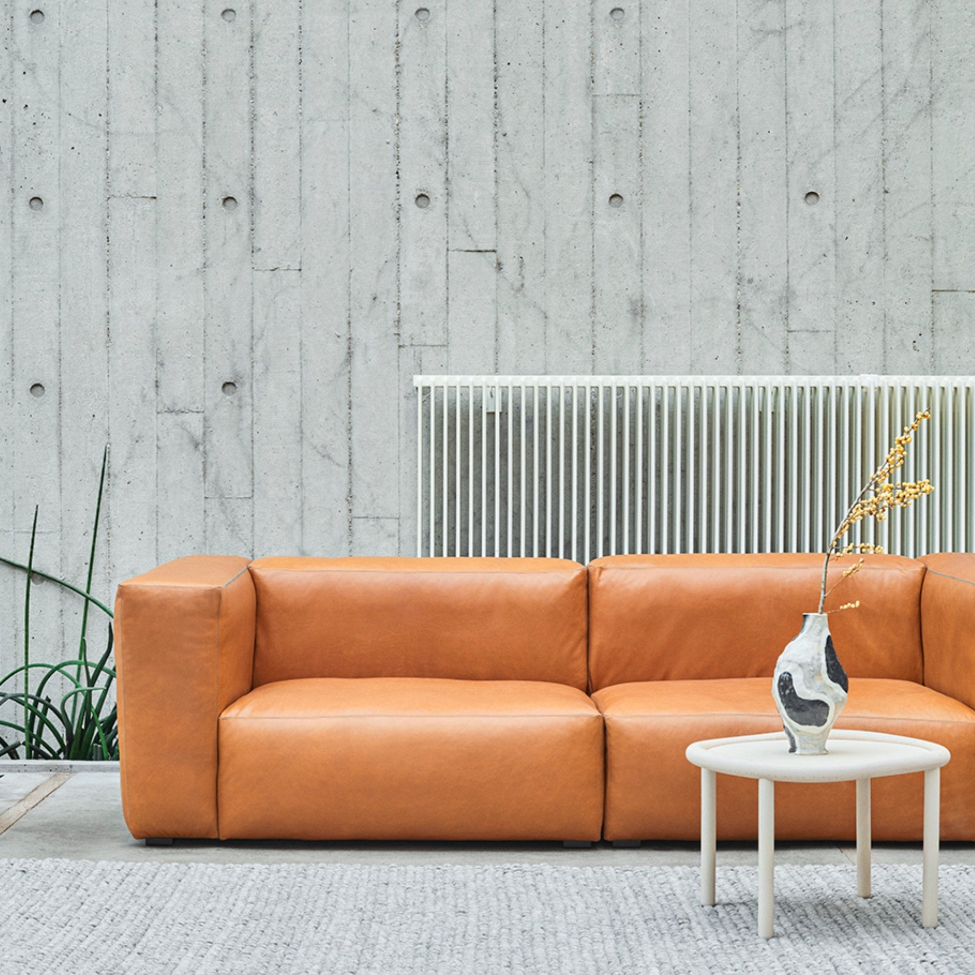 HAY Office Mags Soft Leather Sofa