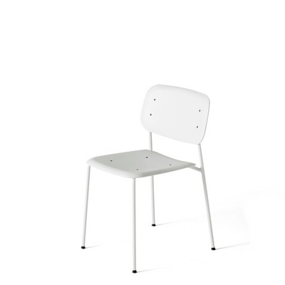 Pair of Soft Edge P10 Stackable Chairs