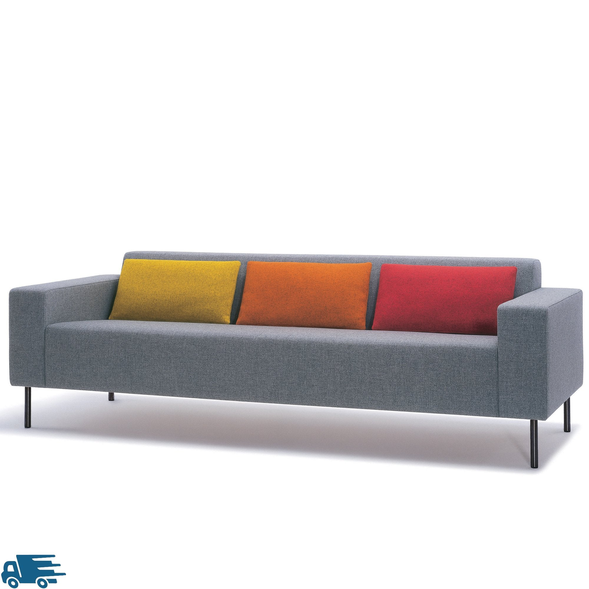 Hitch Mylius HM18 Origin Three Seat Sofa Black Legs