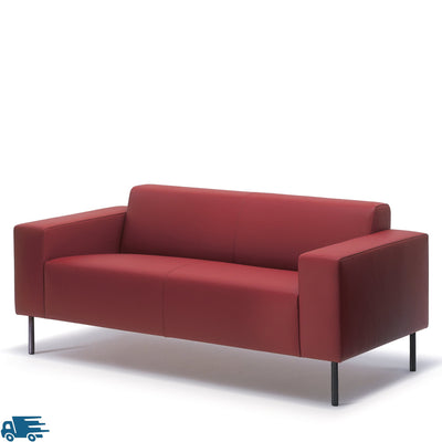 Hitch Mylius HM18 Origin Two Seat Sofa Black Legs