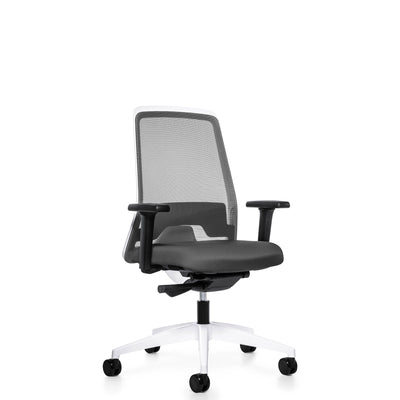 Interstuhl Office EVERYIS1 Office Task Chair 182E Quartz Grey