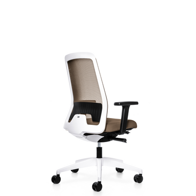 Interstuhl Office EVERYIS1 Office Task Chair 182E Grey Beige