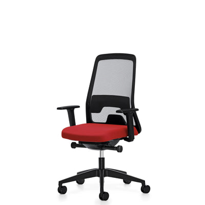 Interstuhl EVERYIS1 Office Task Chair 142E Raspberry Red