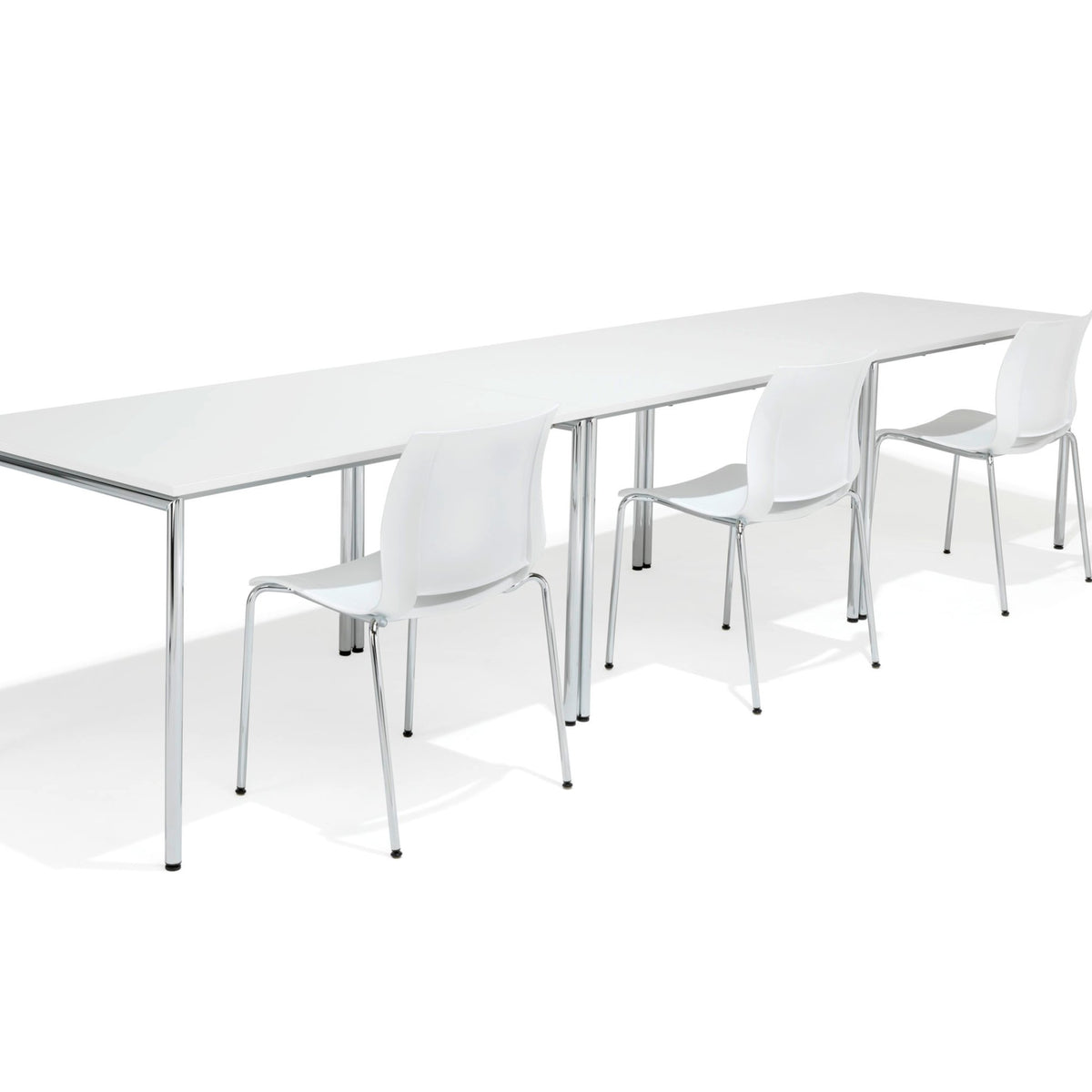 Kusch+Co Office White Scorpii Meeting Table