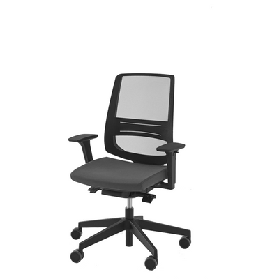 Spacestor LightUp Office Task Chair Black