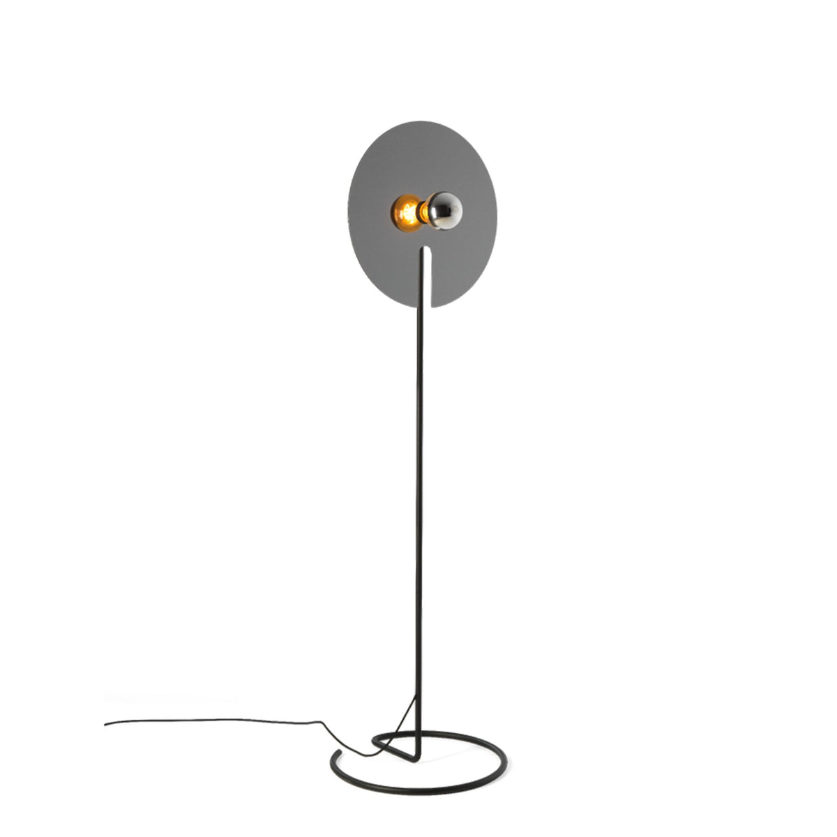 Wever&Ducre Mirro Floor Lamp Black Chrome Mirro 2.0
