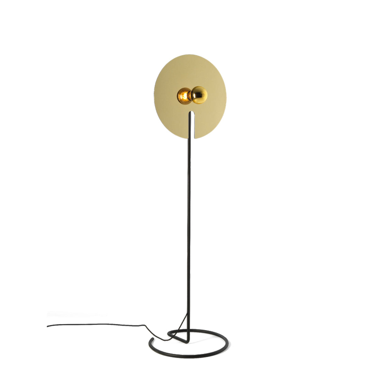 Wever&Ducre Mirro Floor Lamp Gold Mirro 2.0