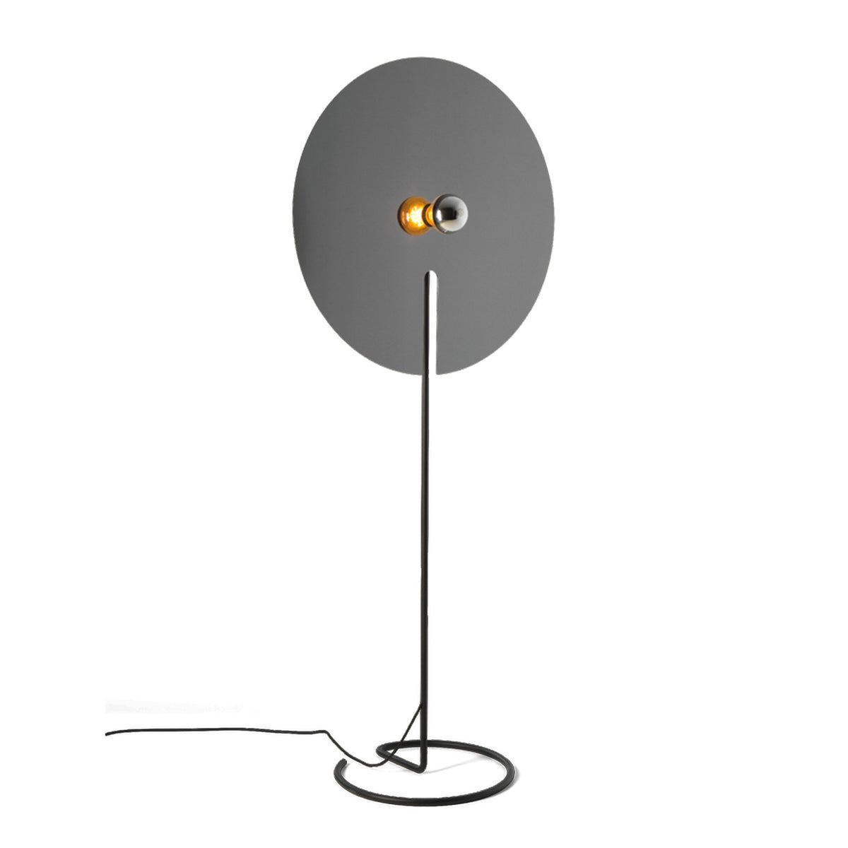 Wever&Ducre Mirro Floor Lamp Black Chrome Mirro 3.0