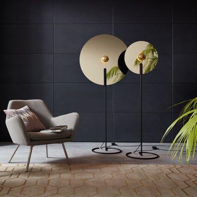 Wever&Ducre Office Mirro Floor Lamp