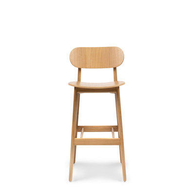 Modus Office PLC Bar Stool Oak