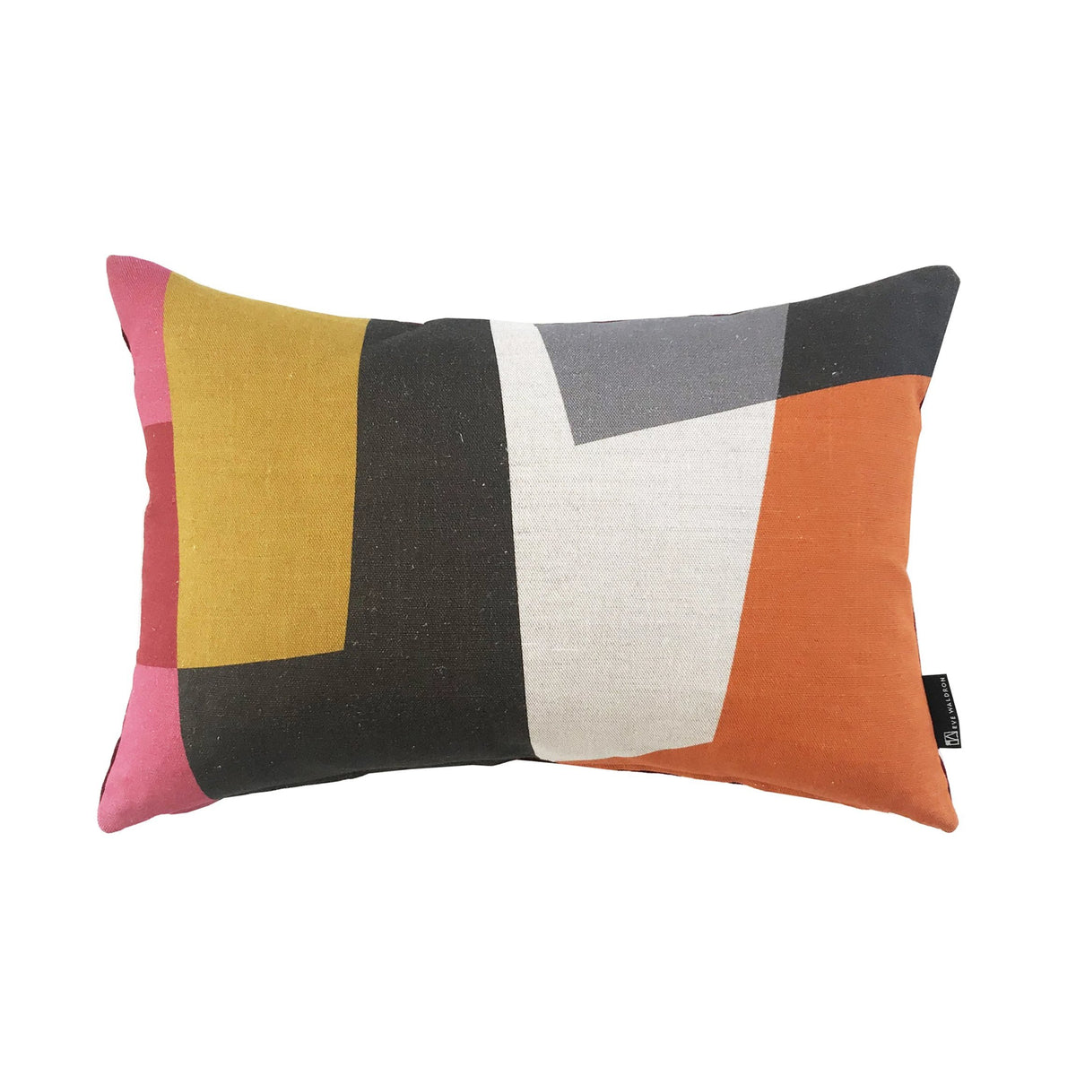 Eve Waldron Design Office Cushion Red Windows 470 x 310mm