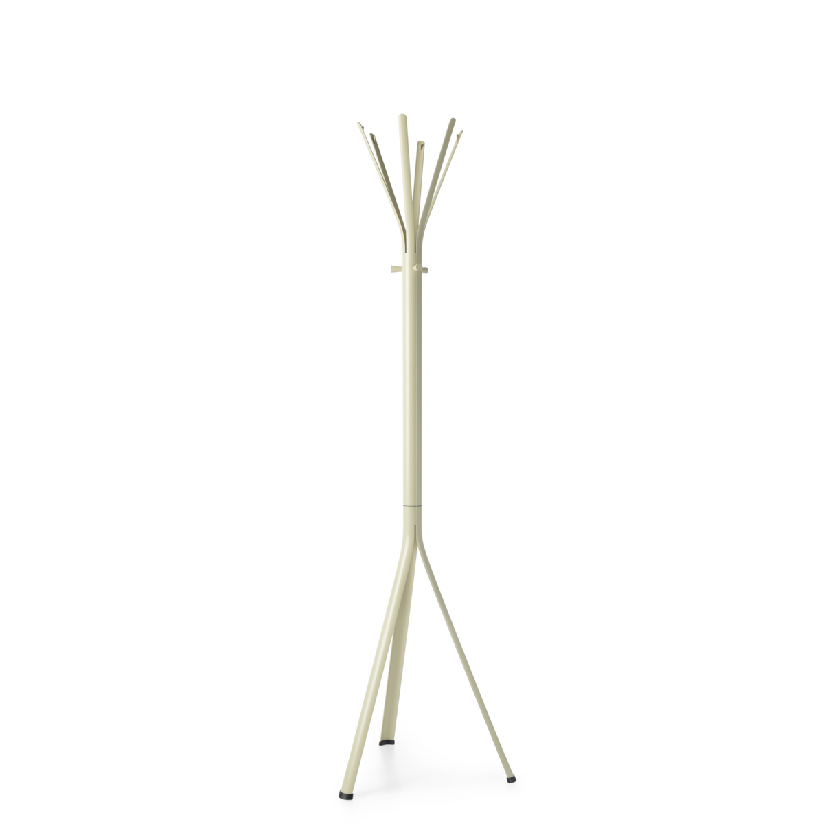 Spacestor Office Nine Coat Stand Green Beige with Green Beige Column