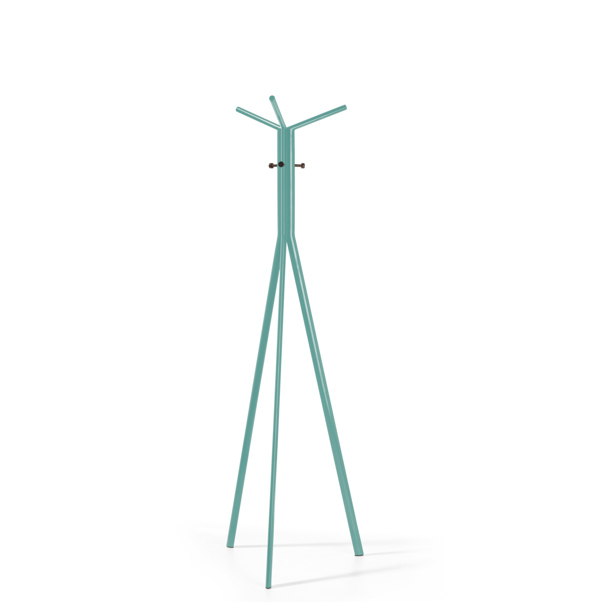 Spacestor Office Seven Coat Stand Pastel Turquoise