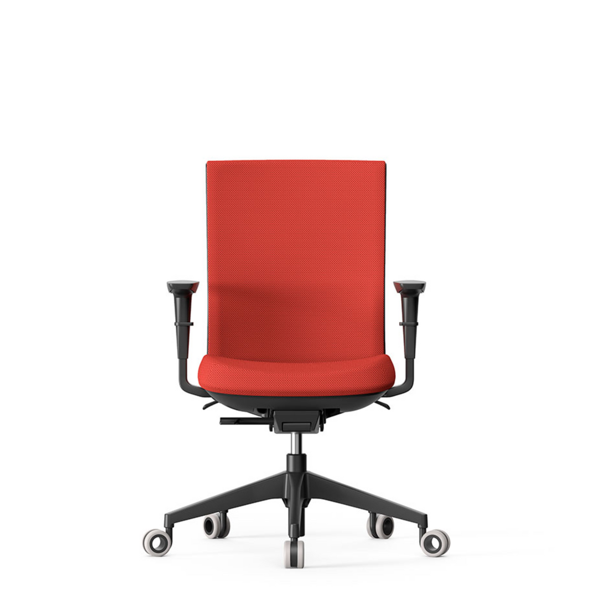 Actiu Office Stay Task Chair - Upholstered Back Burnt Orange