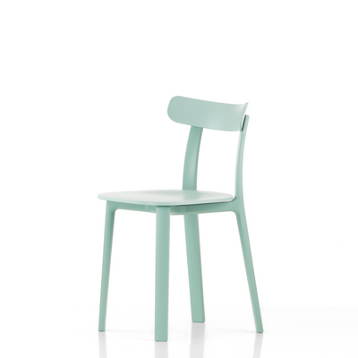 Vitra Office All Plastic Chair by Jasper Morrison Ice Grey