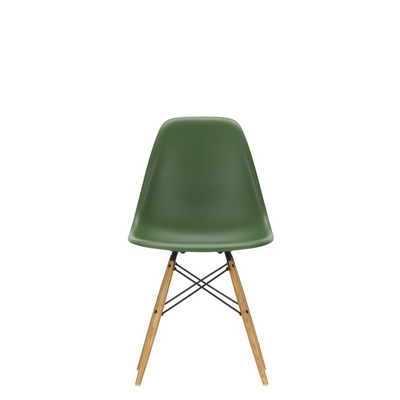Vitra Eames DSW Plastic Side Chair Forest 48