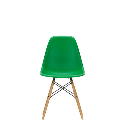 Vitra Eames DSW Plastic Side Chair Green 42