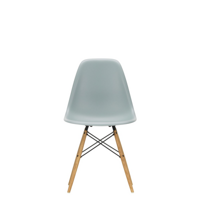 Vitra Eames DSW Plastic Side Chair Light Grey 24