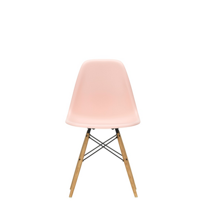 Vitra Eames DSW Plastic Side Chair Pale Rose 41