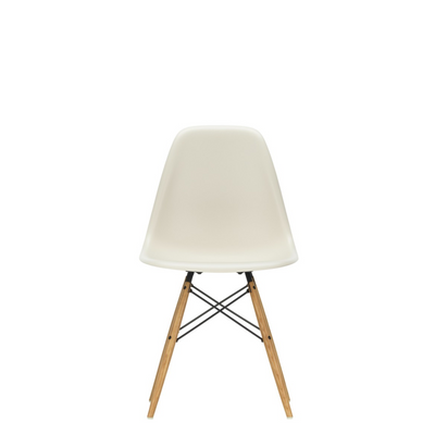 Vitra Eames DSW Plastic Side Chair Pebble 11