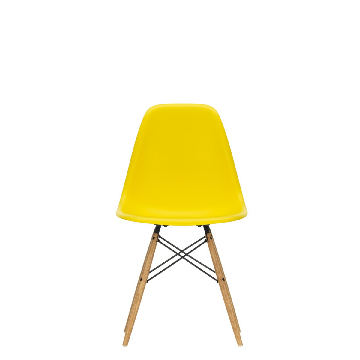Vitra Eames DSW Plastic Side Chair Sunlight 26