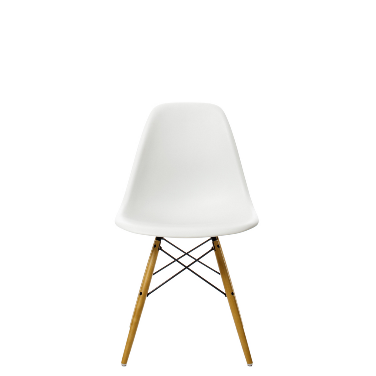 Vitra Eames DSW Plastic Side Chair White 04