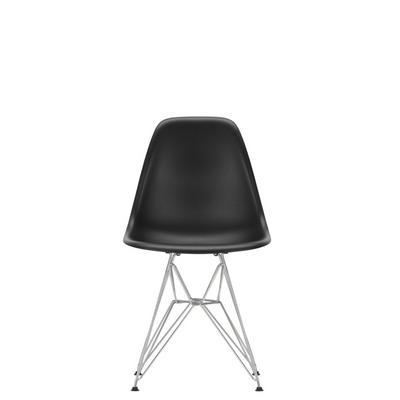 Vitra Eames Plastic Side Chair DSR Deep Black 12