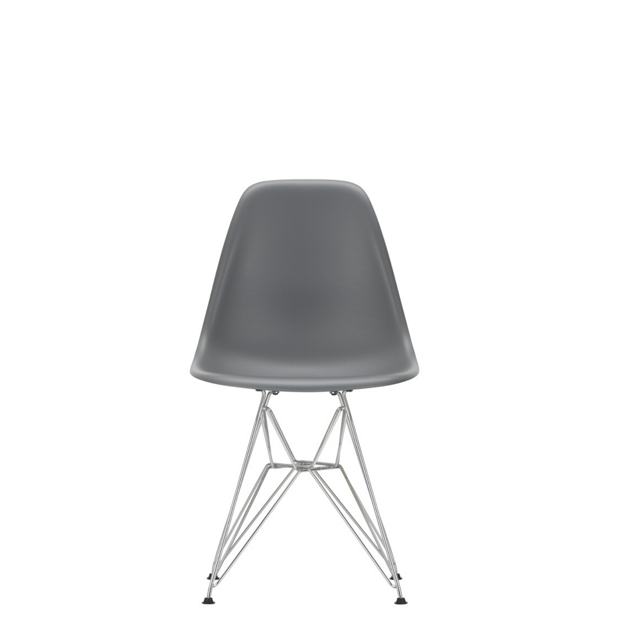 Vitra Eames Plastic Side Chair DSR Granite Grey 56