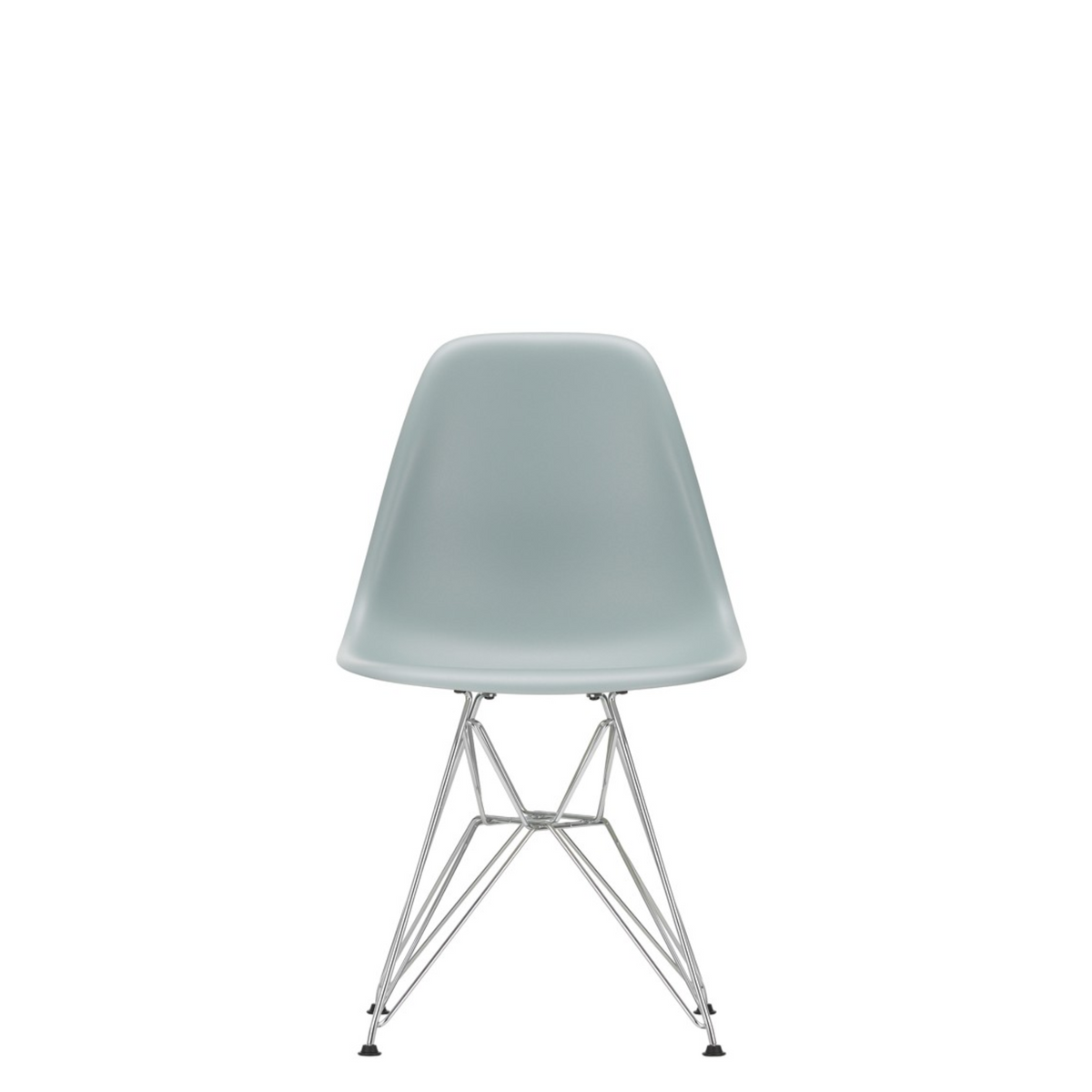 Vitra Eames Plastic Side Chair DSR Light Grey 24
