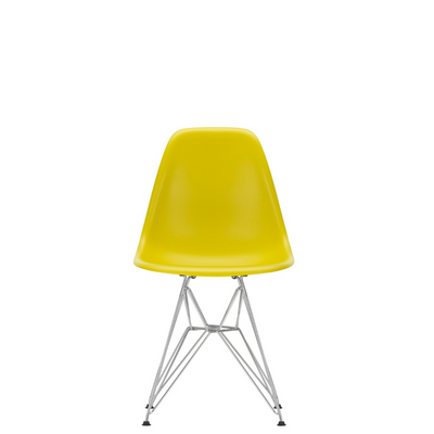 Vitra Eames Plastic Side Chair DSR Mustard 24