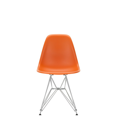 Vitra Eames Plastic Side Chair DSR Rusty Orange 43