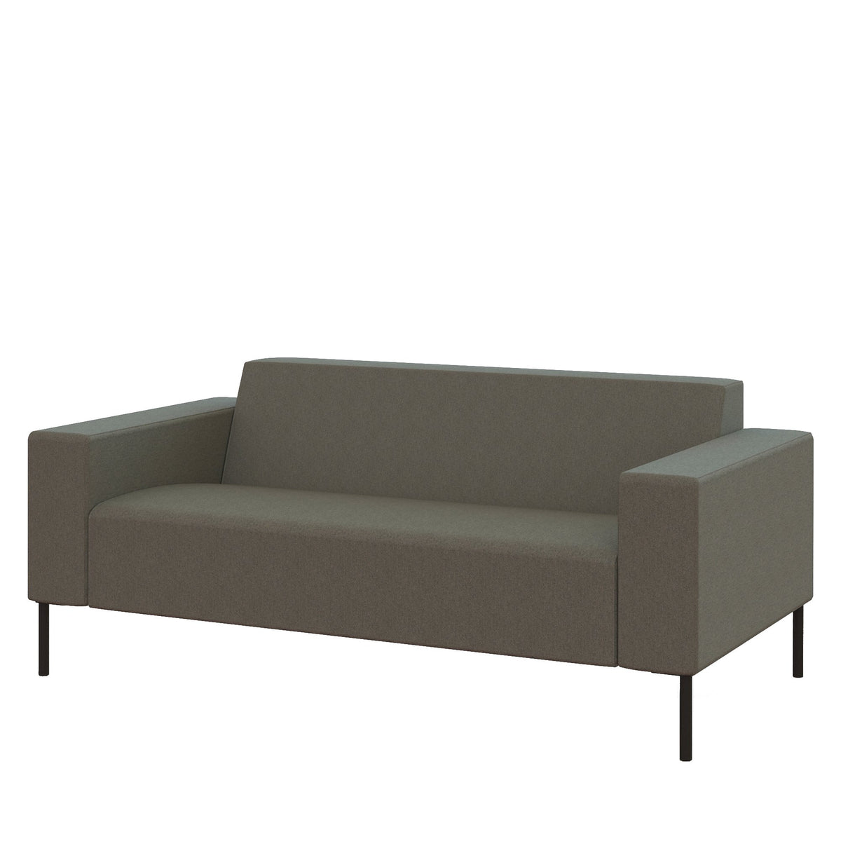 Hitch Mylius HM18 Origin Two Seat Sofa Black Legs Camden