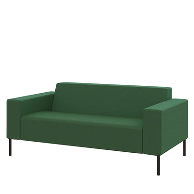 Hitch Mylius HM18 Origin Two Seat Sofa Black Legs Farringdon